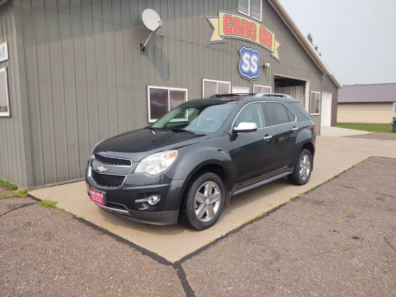 2014 Chevrolet Equinox for sale at CARS ON SS in Rice Lake WI