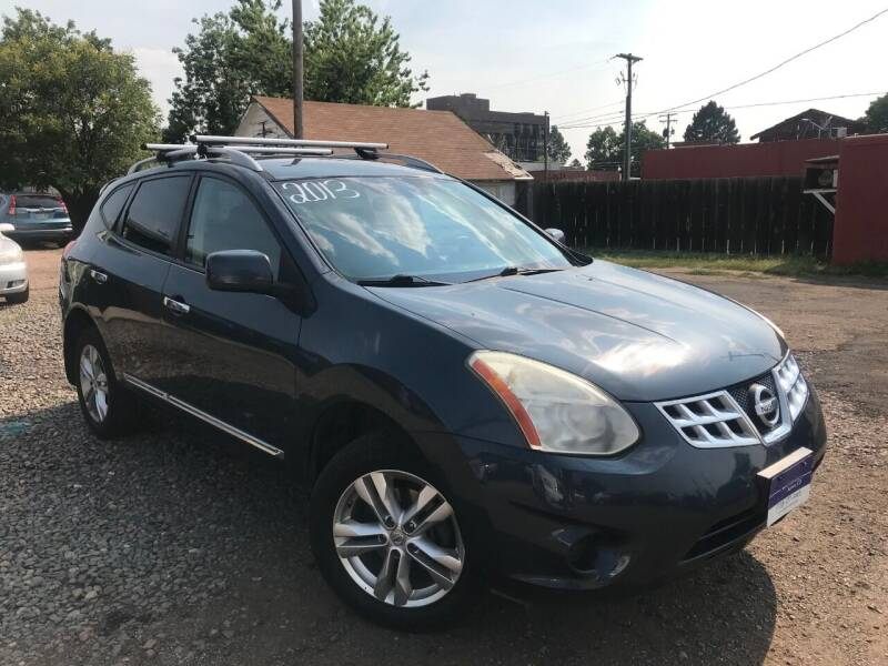 2013 Nissan Rogue for sale at 3-B Auto Sales in Aurora CO