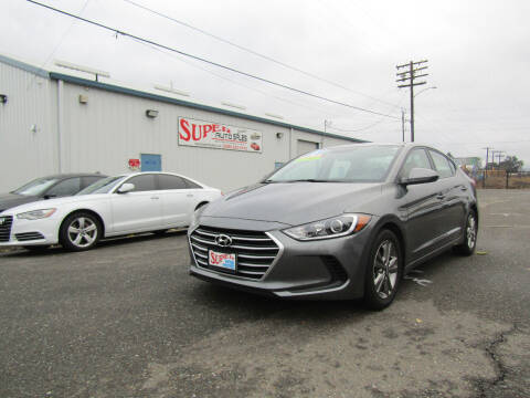 2018 Hyundai Elantra for sale at SUPER AUTO SALES STOCKTON in Stockton CA