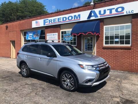 2017 Mitsubishi Outlander for sale at FREEDOM AUTO LLC in Wilkesboro NC