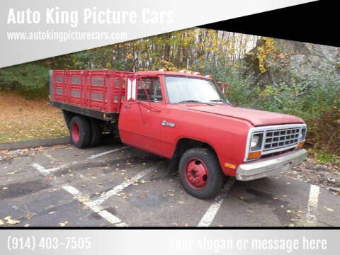 1985 Dodge RAM 350 for sale at Auto King Picture Cars - Rental in Westchester County NY