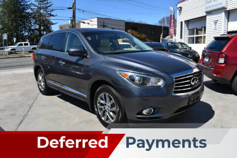 2013 Infiniti JX35 for sale at New Park Avenue Auto Inc in Hartford CT