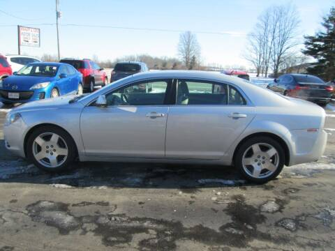 2010 Chevrolet Malibu for sale at Knauff & Sons Motor Sales in New Vienna OH