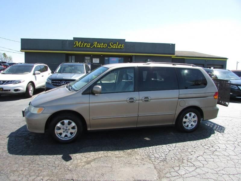 2004 Honda Odyssey for sale at MIRA AUTO SALES in Cincinnati OH