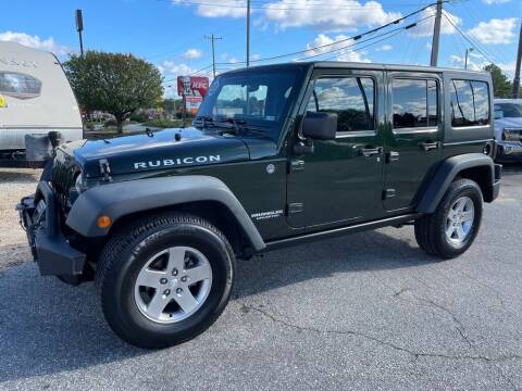 2011 Jeep Wrangler Unlimited for sale at Modern Automotive in Boiling Springs SC