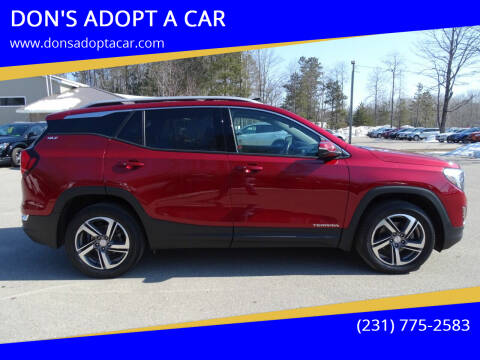 2018 GMC Terrain for sale at DON'S ADOPT A CAR in Cadillac MI