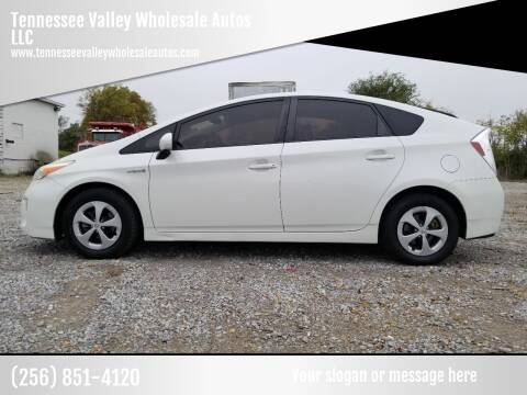 2013 Toyota Prius for sale at Tennessee Valley Wholesale Autos LLC in Huntsville AL