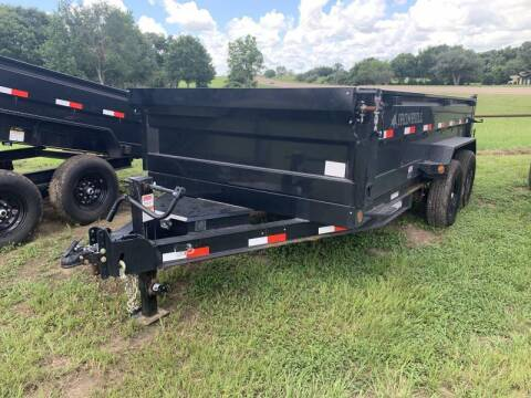 2022 Iron Bull DTB8314 83X14 DUMP 14K for sale at The Trailer Lot in Hallettsville TX