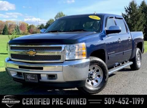 2012 Chevrolet Silverado 1500 for sale at Premier Auto Group in Union Gap WA