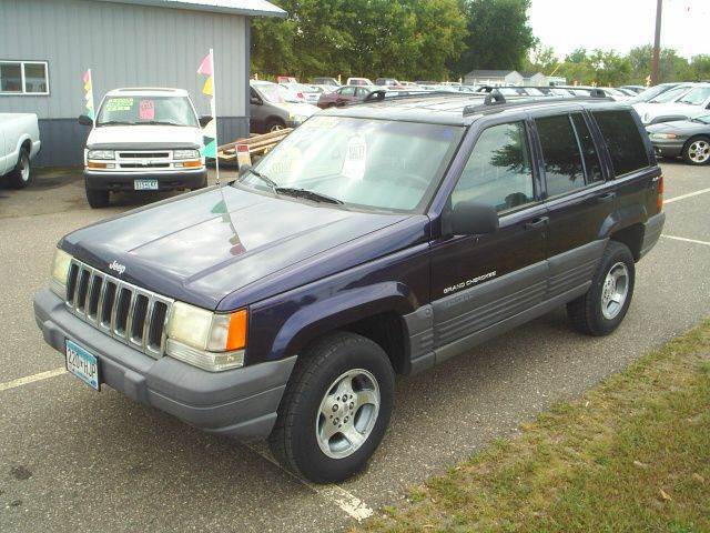 1997 Jeep Grand Cherokee for sale at Dales Auto Sales in Hutchinson MN