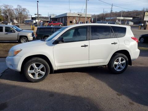 2007 Toyota RAV4 for sale at RIVERSIDE AUTO SALES in Sioux City IA