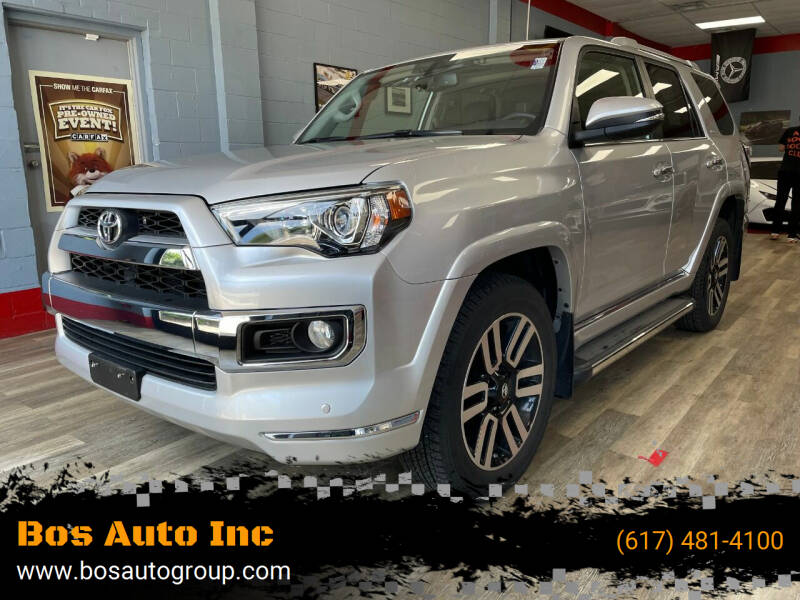 2017 Toyota 4Runner for sale at Bos Auto Inc in Quincy MA