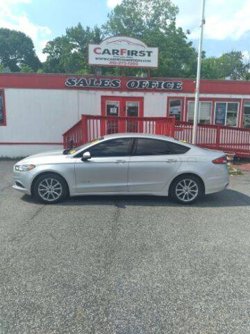 2017 Ford Fusion Hybrid for sale at CARFIRST ABERDEEN in Aberdeen MD