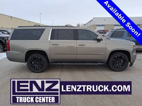 2018 Chevrolet Suburban for sale at LENZ TRUCK CENTER in Fond Du Lac WI