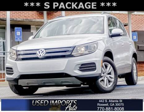 2017 Volkswagen Tiguan for sale at Used Imports Auto in Roswell GA