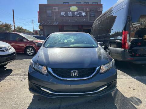 2015 Honda Civic for sale at TJ AUTO in Brooklyn NY