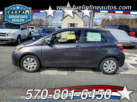 2012 Toyota Yaris for sale at FUELIN FINE AUTO SALES INC in Saylorsburg PA