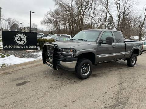 2001 GMC Sierra 2500HD for sale at Station 45 Auto Sales Inc in Allendale MI