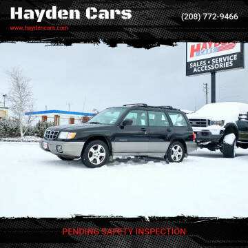 1998 Subaru Forester for sale at Hayden Cars in Coeur D Alene ID