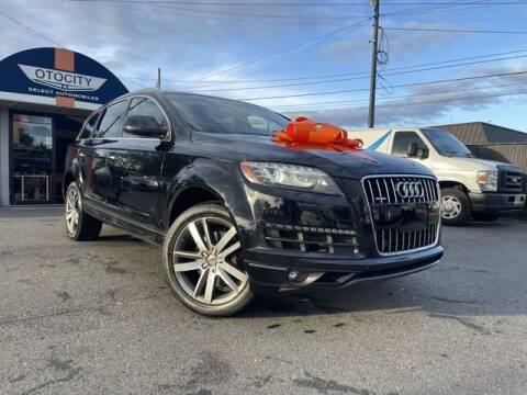 2015 Audi Q7 for sale at OTOCITY in Totowa NJ