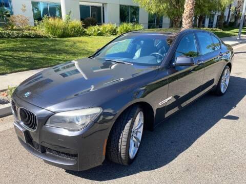 2012 BMW 7 Series for sale at Donada  Group Inc in Arleta CA
