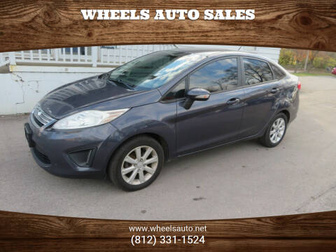 2013 Ford Fiesta for sale at Wheels Auto Sales in Bloomington IN
