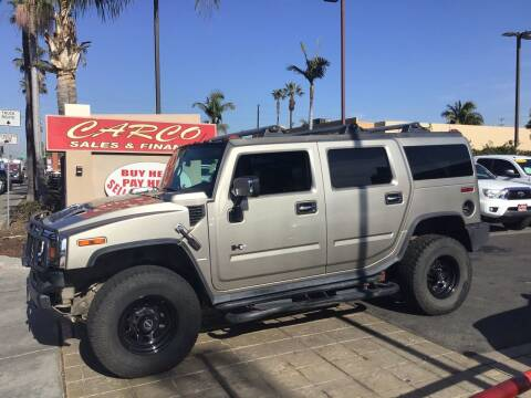 2003 HUMMER H2 for sale at CARCO SALES & FINANCE in Chula Vista CA