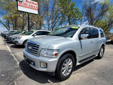2008 Infiniti QX56 for sale at Real Deal Auto Sales in Manchester NH