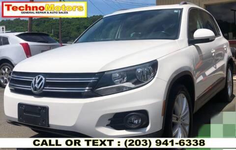 2013 Volkswagen Tiguan for sale at Techno Motors in Danbury CT