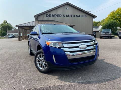 2013 Ford Edge for sale at Drapers Auto Sales in Peru IN