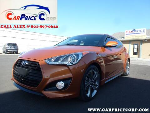 2015 Hyundai Veloster for sale at CarPrice Corp in Murray UT