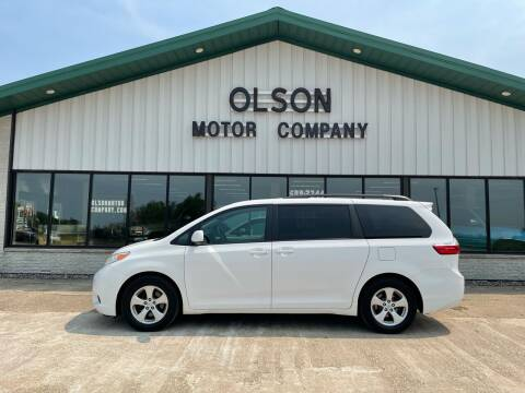 2016 Toyota Sienna for sale at Olson Motor Company in Morris MN