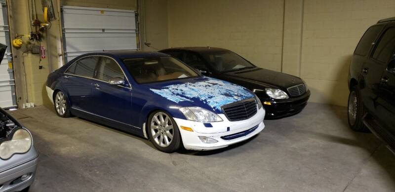 2007 Mercedes-Benz S-Class for sale at Anytime Auto - Fixer Uppers in Muskegon MI