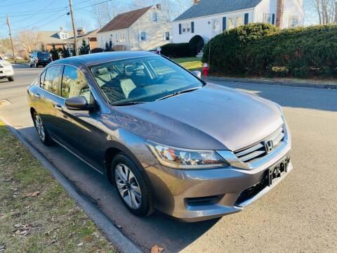2014 Honda Accord for sale at Kensington Family Auto in Kensington CT