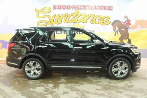 2018 Ford Explorer for sale at Sundance Chevrolet in Grand Ledge MI
