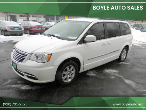 2011 Chrysler Town and Country for sale at Boyle Auto Sales in Appleton WI