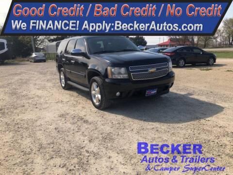 2007 Chevrolet Tahoe for sale at Becker Autos & Trailers in Beloit KS