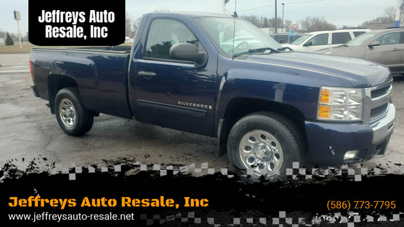 2009 Chevrolet Silverado 1500 for sale at Jeffreys Auto Resale, Inc in Clinton Township MI