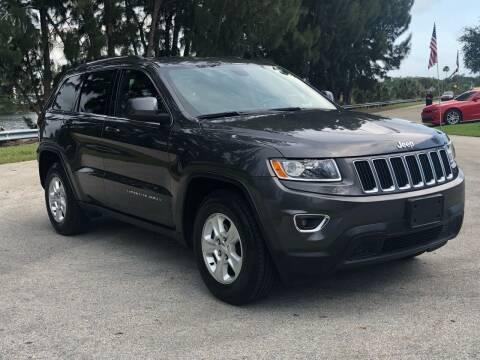 2015 Jeep Grand Cherokee for sale at CAR UZD in Miami FL