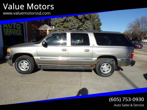 2002 GMC Yukon XL for sale at Value Motors in Watertown SD