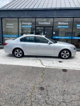2007 BMW 5 Series for sale at Georgia Certified Motors in Stockbridge GA