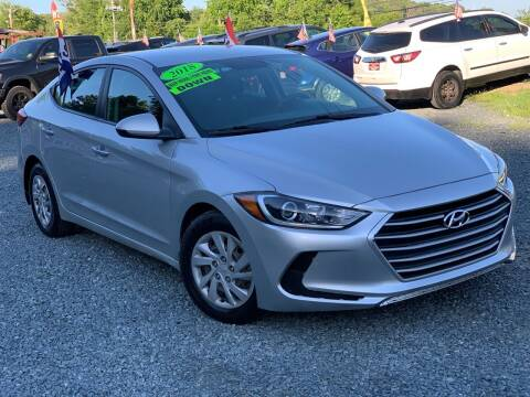 2018 Hyundai Elantra for sale at A&M Auto Sales in Edgewood MD