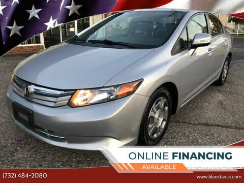 2012 Honda Civic for sale at Blue Star Cars in Jamesburg NJ