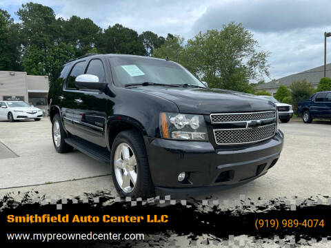 2013 Chevrolet Tahoe for sale at Smithfield Auto Center LLC in Smithfield NC