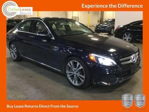 2015 Mercedes-Benz C-Class for sale at Dallas Auto Finance in Dallas TX