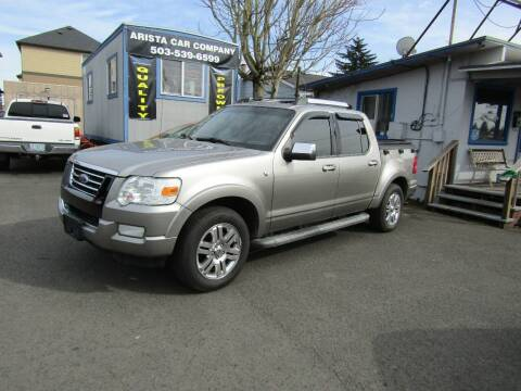 2008 Ford Explorer Sport Trac for sale at ARISTA CAR COMPANY LLC in Portland OR