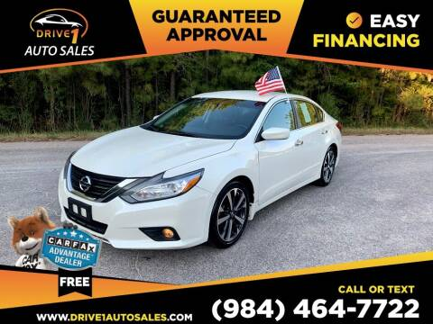 2016 Nissan Altima for sale at Drive 1 Auto Sales in Wake Forest NC