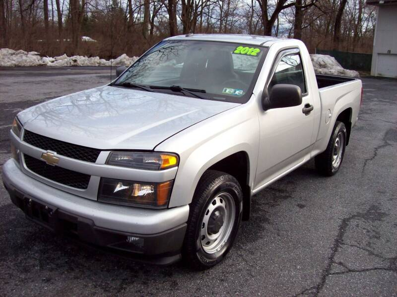 2012 Chevrolet Colorado for sale at Clift Auto Sales in Annville PA