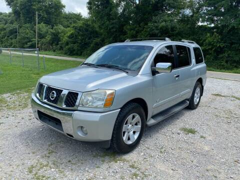 2006 Nissan Armada for sale at Tennessee Valley Wholesale Autos LLC in Huntsville AL