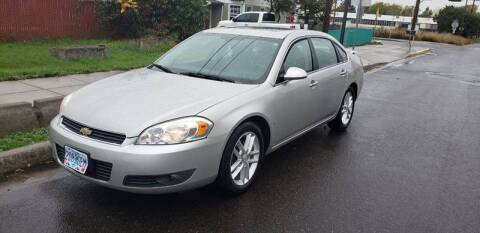 2008 Chevrolet Impala for sale at Kingz Auto LLC in Portland OR